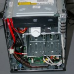HP MicroServer - Front with ODD