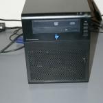 HP MicroServer - Beauty Shot - Front Blue